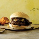 Tunisian Lamb Burgers with Harissa Mayonnaise & Orange, Olive, Date Relish