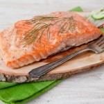 Grilled Arctic Char with Maple Dijon Glaze