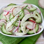Cucumber, Fennel and Radish Salad